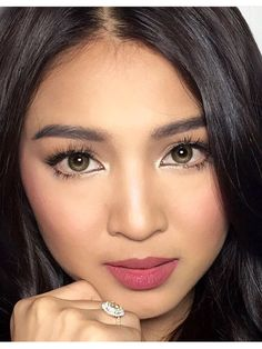 Close-up beauty 😍 Asian Celebrities, Celebs, Lady Luster, Filipina Actress, Liza Soberano, James Reid, Nadine Lustre, Asian Makeup, Best Actress