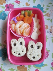 Daily Bento Easter Bunny | We Should Be Folding Laundry
