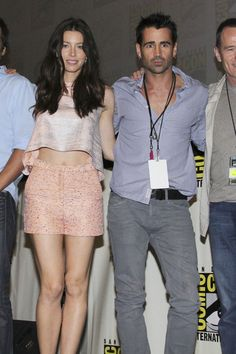 Colin Farrell's Wife   Colin Farrell Jessica Biel and Colin Farrell join forces to promote ...