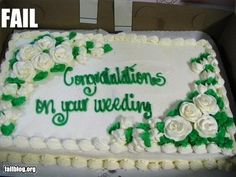 15 Comical Wedding Cake Disasters 4 - https://www.facebook.com/different.solutions.page