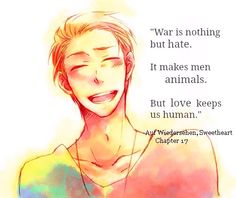 Quote from Auf Wiedersehen, Sweetheart
