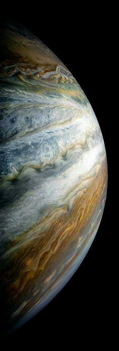 Jupiter view by Juno cam NASA – Science, Physics and Astronomy News Earth And Space, Cosmos, Space Photos, Space Images, Nasa Space Pictures, Astronomy Pictures, Astronomy Facts, Nasa Photos, Galaxy Pictures