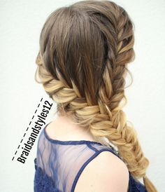 Fishtail Hairstyle Pleasing 11 Unique Fishtail Braid Hairstyles With Tutorials And Ideas