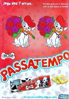 Biscoito Passatempo Dálmatas #nostalgia