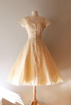 1950's Eyelet Dress