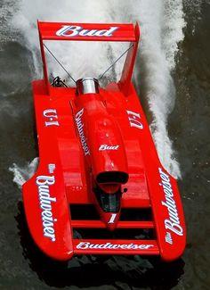 Miss Bud Budweiser U1 U-1 classic unlimited class hydroplane hydroplanes hydro hydros racing boat boats