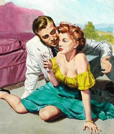 That's the truth Darling. Romance Art, Vintage Romance, Vintage Love, Vintage Art, Retro Humor, Vintage Humor, Vintage Posters, Retro Funny, Serpieri