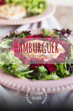 Hambúrguer de Frango e Cogumelos