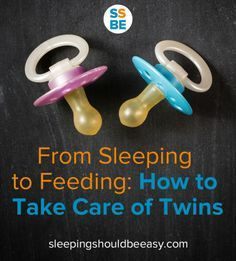 It's hard enough caring for one baby—from sleeping to feeding, here's how to take care of twins.