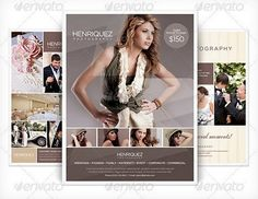 Layouts Print Photos Has Complete Templates Pages Brochure That - Photography brochure templates