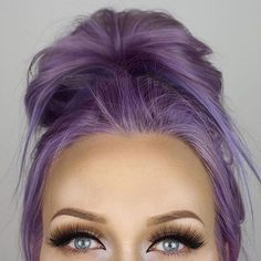 Arctic Fox hair color - Purple Rain and Arctic Mix Arctic Fox Haarfarbe - Purple Rain und Arctic Mix Hair Color Purple, Hair Dye Colors, Cool Hair Color, Purple Blonde Hair, Dark Pastel Hair, Faded Purple Hair, Pastel Hair Colors, Purple Hair Tips, Crazy Colour Hair Dye