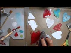 Mixed Media Monday 6/16/14 with Tracy Weinzapfel - heART