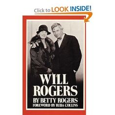 Will Rogers.  Enough said!