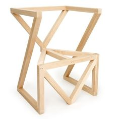 1000 images about meubles en bois on pinterest plywood for Chaise en bois