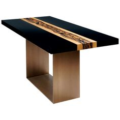 River Table by Herve Langlais | From a unique collection of antique and modern sofa tables at https://www.1stdibs.com/furniture/tables/sofa-tables/