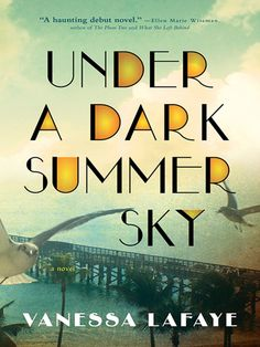 Under a Dark Summer Sky is a stunning debut novel, at once a love story set in a time of great turmoil and a vivid depiction of a major natural disaster.   Florida, 1935. In Heron Key, relationships are as tangled as the swamp's mangrove roots. It's been eighteen long years since Henry went away to war. Still, Missy has waited, cleaning the Kincaids' house and counting the stars. Now he's back, but she barely recognizes the desperate, destitute veteran he's become — unsure of his future…