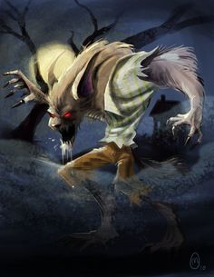 Wolf-Man by ~malara-art on deviantART