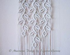 Macrame colgante - ramitas #1 - casa de Macrame hecho a mano Deco/Macrame pared arte/Arte/cuerda tejer cuerda trenzado por Evgenia Garcia