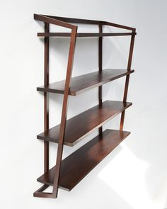 Joaquim Tenreiro | Wall-mounted shelving unit (ca. 1955), Available for Sale | Artsy