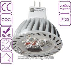 Bombilla LED Dicroica 3W MR16