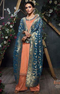 807dd15a00 ... wholesale Dealer Online Mumbai and Surat · Ganga Silk Route Bemberg  Habutai Silk Suits (6 pc catalog)