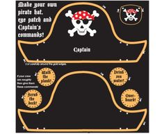 Pirate hat and eye patch craft kit Pirate Birthday, Pirate Theme, Pirate Party, Boy Birthday Parties, Reception Class, Craft Eyes, Pirate Crafts, My Teacher, Under The Sea