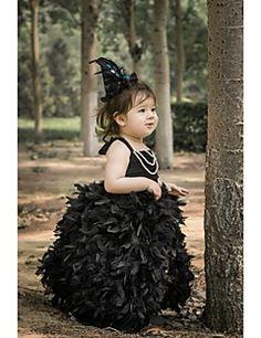 Flower Girl Dress Tea-length Satin/Lycra A-line Sleeveless D... – USD $ 59.99