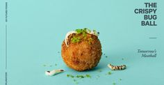 """Anticipating a future of climate change and population growth, a group of artists cooked up renderings of more sustainable, meatless """"meatballs."""""""