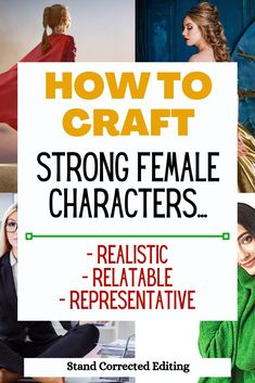 Want to create a strong female character who's realistic, relatable and representative WITHOUT being annoying?! Well, this is the post for you! Whether you're just starting out as a newbie writer or you just need some extra tips to bring your characters alive, this article will teach you exactly how to create a strong female character! #howtocreatestrongfemalecharacters #howtocreateafemalecharacter #howtocreateafemalevillain #howtocreatefictionalcharacters #charactercreationtips
