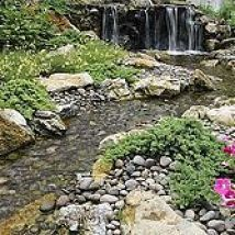 Would LOVE this in my yard!  Fun, beautiful and safe for kids...think pondless waterfall and stream