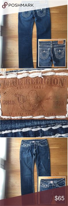"True Religion Jeans. True Religion jeans. Inseam 29"".  Good condition. Firm Price unless bundled, Speaking style in True Religion. True Religion Jeans Straight Leg"