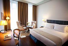 Las 31 habitaciones Deluxe son tanto funcionales como elegantes.   Galería de fotos 6 de 7   AD MX