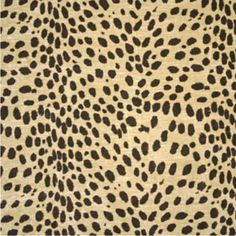Clarence House's Ocelot fabric
