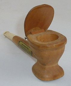 "Adirondack Mountains ""John"" Pipe, Warrensburg, NY, Tobacciana from gentlemensantiques on Ruby Lane"