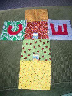 How to Make Homemade Fabric Baby Blocks - InfoBarrel