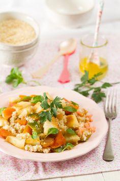 Ensalada de Quinoa - Los Tragaldabas