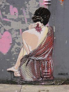 Jana & JS (2016) - Fashion Street, London E1 (UK)