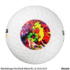 Glücksbringer Good luck Wilson Ultra 500 Distance Pack Of Golf Balls