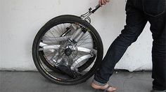If you�ve ever had to lug a bike with you onto the train or bus, or up a steep flight of stairs, you can probably understand the appeal of lightweight folding bikes. But most of them are too light-weight to handle the demands of serious riders. Dominic Hargreaves was having the same struggles with folding [...]