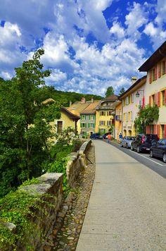 Romainmôtier - original place of my ancestors