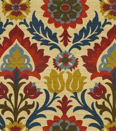 Home Decor Print Fabric- Waverly - Santa Maria Gem