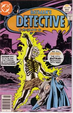 Detective Comics #469 first appearance of Rupert Thorne.