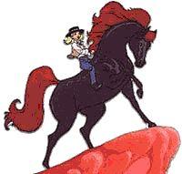 Cavalo de Fogo #nostalgia