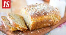 Tarun maukkaan vuokaleivän ohje kannattaa ottaa talteen. Savoury Baking, Banana Bread, Recipies, Treats, Cooking, Desserts, Recipes, Sweet Like Candy, Kitchen