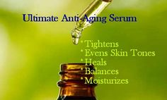 Try following homemade anti-aging serum recipes! They contain nutrients & antioxidants that will help your skin look well hydrated lively and full of youth.