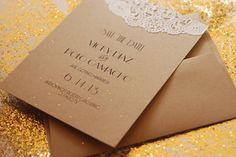 Handmade Custom Art Deco Save the Date  Wedding by postscripts, $1.00