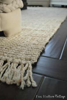 Rugs USA Chunky Maui Loop Jute Area Rug at foxhollowcottage.com