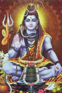 "Shiva is known as ""The Destroyer"" within the Trimurti, the Hindu trinity that includes Brahma and Vishnu Arte Shiva, Mahakal Shiva, Shiva Statue, Shiva Art, Hindu Art, Kali Hindu, Krishna Art, Shiva Shankar, Lord Shiva Hd Images"