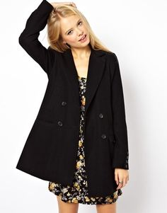 ASOS Longline Double Breasted Coat C$158.21NOW FROM C$85.43