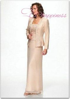 Free Shipping Long Sleeves Evening Gowns Dresses With Evening Jackets for Women Mother of the Bride Dresses-in Mother of the Bride Dresses from Apparel & Accessories on Aliexpress.com
